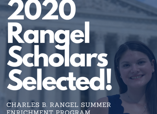 Photo: 2019 Rangel Scholar, Lauren Estrada