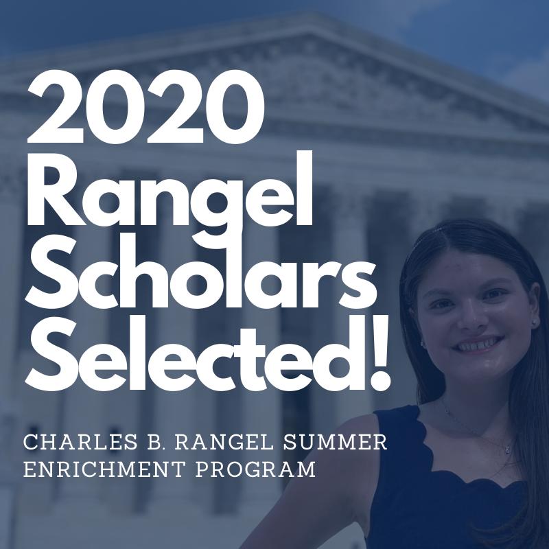 Photo: 2019 Rangel Scholar, Lauren Estrada